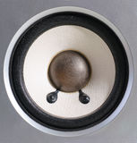 Speaker isolate loud music loud sound. The speaker isolate loud music loud sound Stock Photo