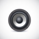 Speaker isolated. Royalty Free Stock Photo