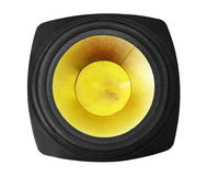 Speaker isolated Stock Images