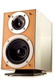 Speaker isolated on white Stock Photo