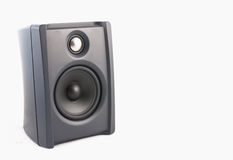 Speaker in isolated. Speaker in white isolated background Royalty Free Stock Photo
