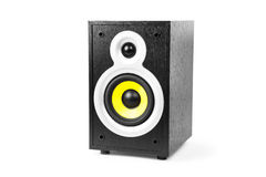 Speaker. Isolated on a white background Stock Photos