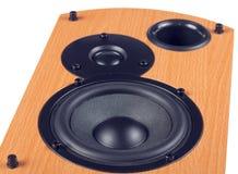 Speaker isolated on white background Stock Image