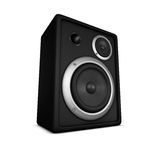 Speaker, Loudspeaker, Box, Subwoofer A royalty free stock photos