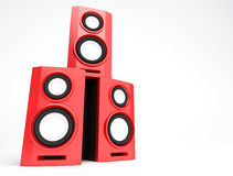 Speaker, loudspeaker, woofer, speakerbox Stock Photography