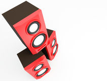 Speaker, loudspeaker, woofer, speakerbox Royalty Free Stock Photography