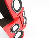 Speaker, loudspeaker, woofer, speakerbox Stock Photos