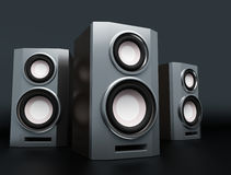 Speaker, loudspeaker, woofer, speakerbox Royalty Free Stock Image