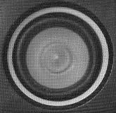 Speaker. Macro of speaker for background stock photography