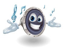 Speaker man character Royalty Free Stock Photo