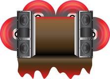 Speaker Message Stock Image