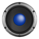 Speaker. With metal decoration on a white background royalty free illustration