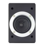 Speaker in a metal frame with bolts Stock Images