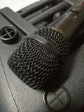Speaker and Mobile Microphone Royalty Free Stock Photos