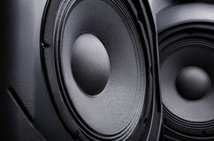 Speaker. Music. Stock Photo