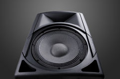 Speaker. Music. Stock Image