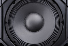 Speaker. Music. Royalty Free Stock Photography