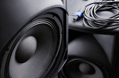 Speaker. Music. Royalty Free Stock Photos