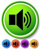 Speaker, notification icons. Speaker, Alarm Icon for Audio, Musi Royalty Free Stock Photo