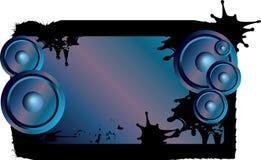 Free Speaker On Grunge Banner Royalty Free Stock Image - 9736556