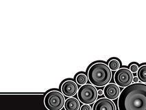 Speaker poke Royalty Free Stock Image