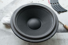 Speaker Refoam Repair Royalty Free Stock Photography