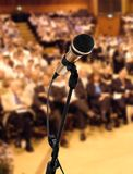 Speaker at seminar royalty free stock image