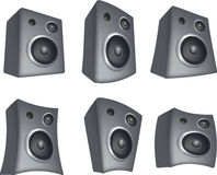 Speaker set Royalty Free Stock Images