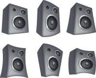 Speaker set Royalty Free Stock Images