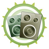 Speaker Set Illustration Royalty Free Stock Photos
