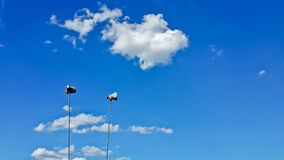 Speakers in blue sky Stock Photography