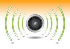 Speaker sound vector illustration