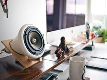 Speaker Sound Music stock photo
