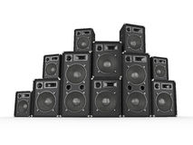 Speaker Stack Stock Images