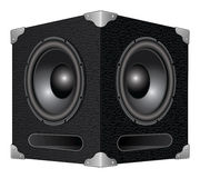 Speaker or Subwoofer Stock Photo