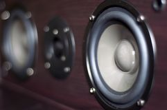 Speaker system Stock Images