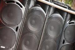 Speaker System Stock Image