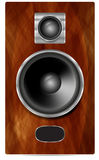 Speaker system. Royalty Free Stock Photography