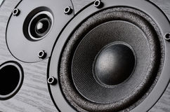 Speaker system Stock Photo