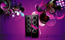 Speaker vector illustration Royalty Free Stock Image
