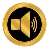 Speaker volume button. Stock Images