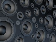 Speaker wall Stock Images