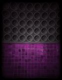 Speaker Wall. Abstract Nightclub Speaker Wall Background Royalty Free Stock Photos