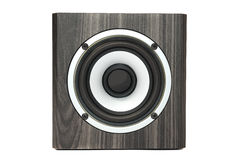Speaker on white background Royalty Free Stock Photo