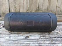 Speaker, wireless, isolated, portable, background, black, music, mini, outdoor, speakers, design, modern, technology, s Stock Photos