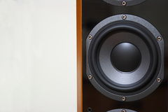 Sound system woofer Stock Image