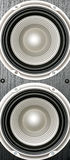 Speaker woofers Royalty Free Stock Photography