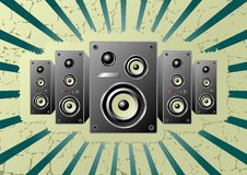 Speakers_01 Royalty Free Stock Photography