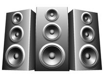 Speakers. Royalty Free Stock Image