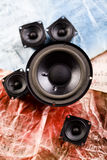 Speakers Stock Photo